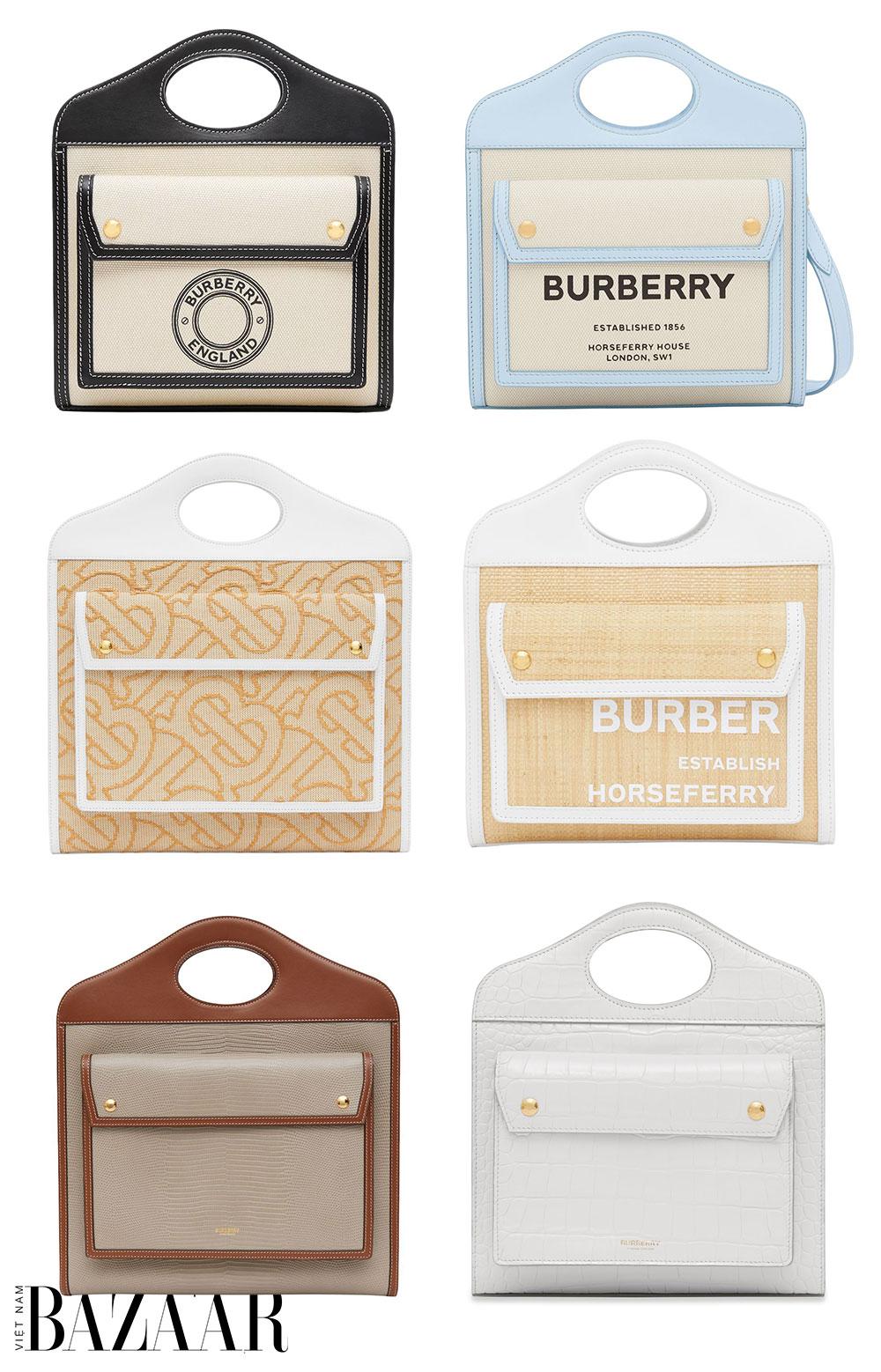 Vì sao túi xách Pocket Bag là It Bag mới của Burberry 1