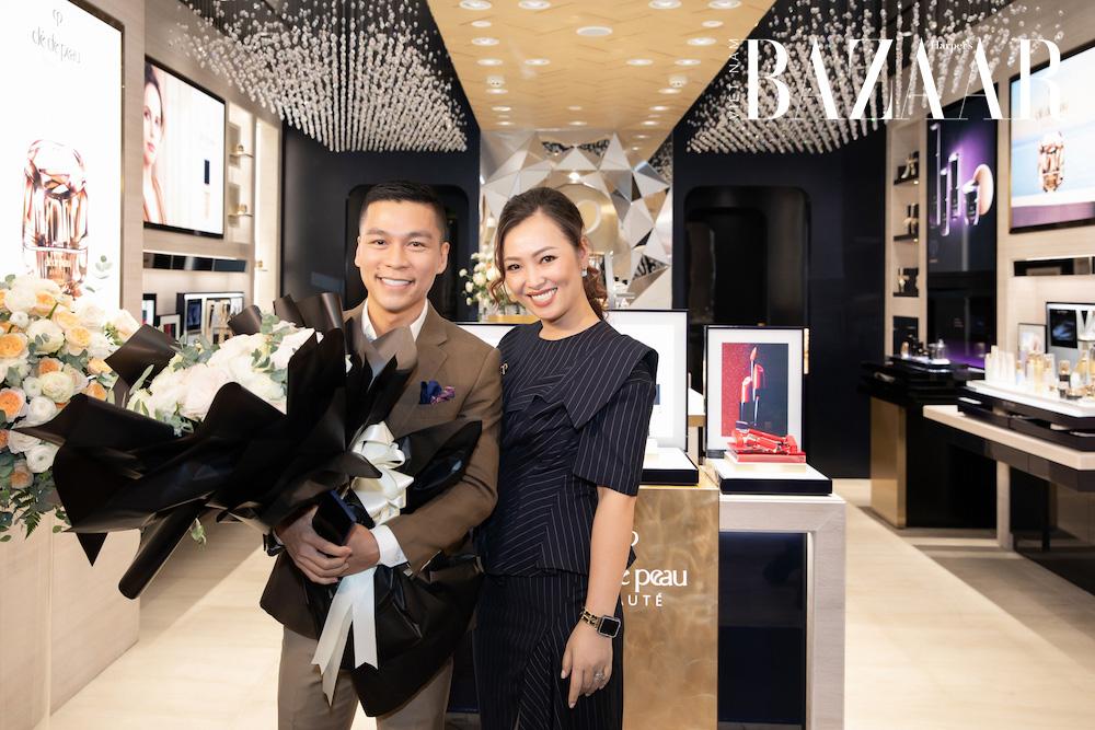 Khai trương boutique Clé de Peau Beauté tại Vincom Đồng Khởi 9
