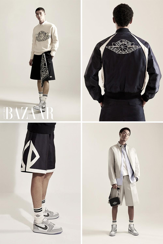 Đi cùng giày thể thao Dior Air Jordan là bộ sưu tập Air Dior Capsule
