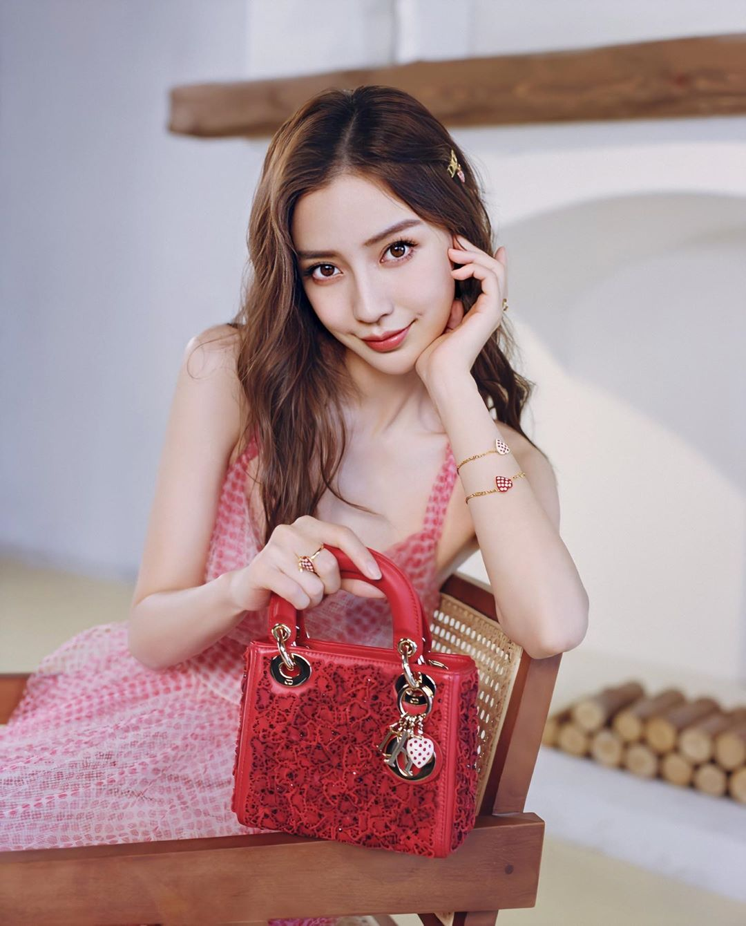 Angelababy trong chiến dịch DIORAMOUR