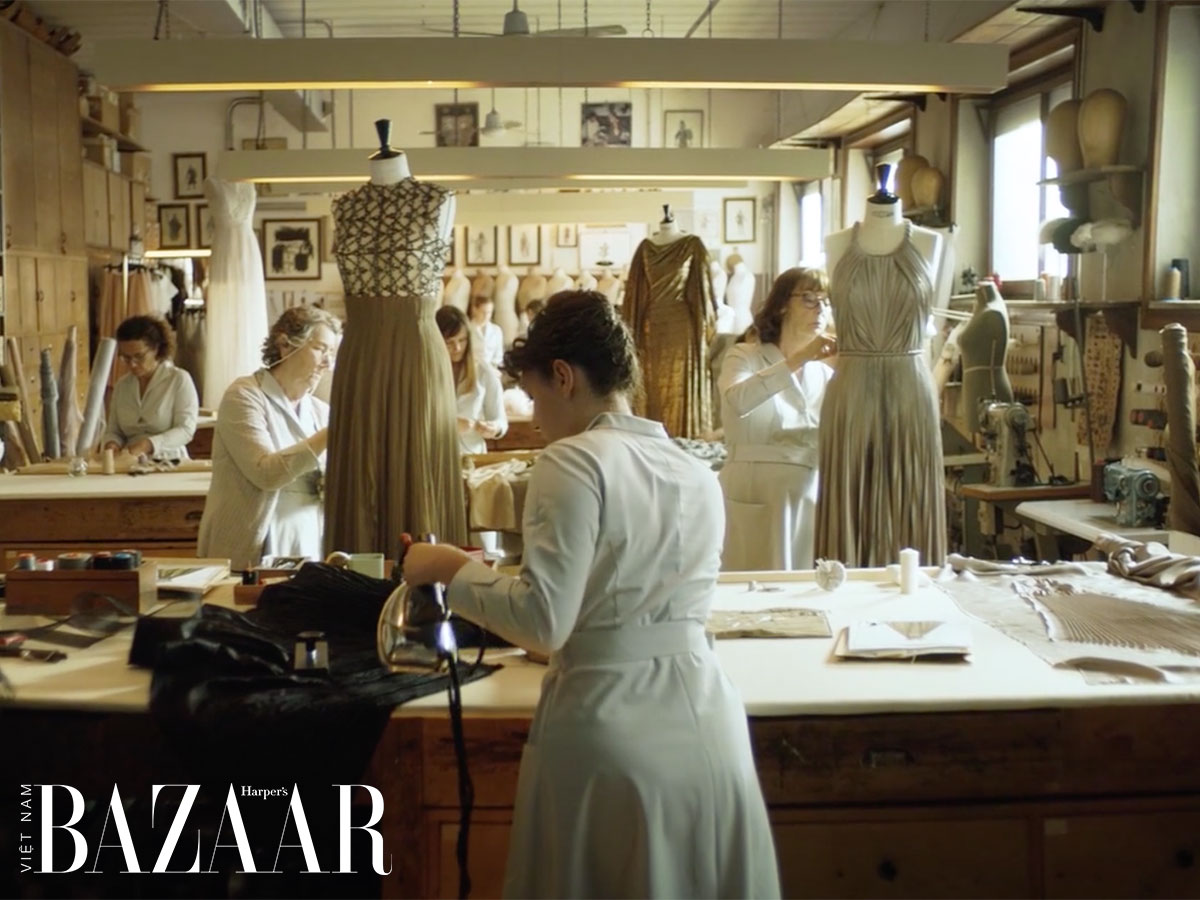 Lịch sử haute couture và les petit mains