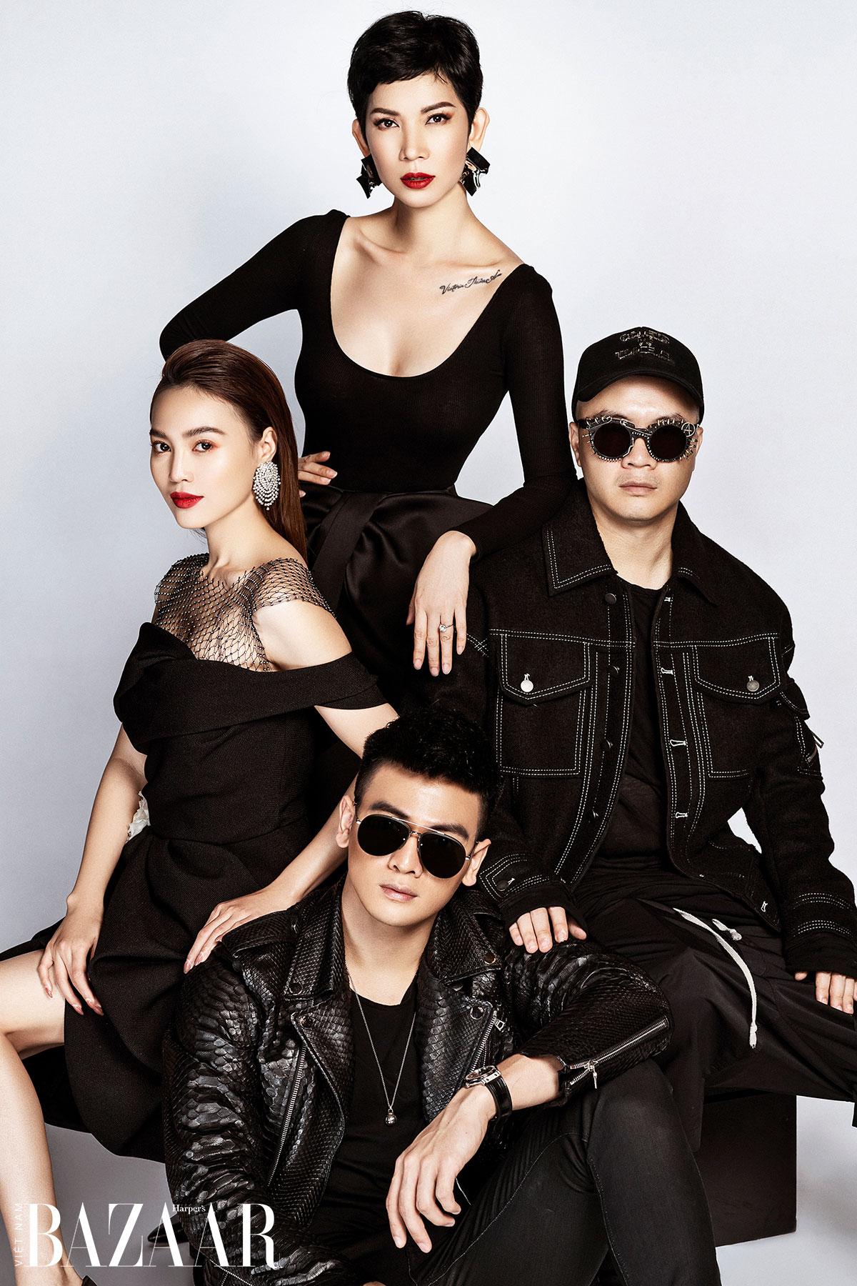 Dàn giám khảo buổi casting show SIXDO: Đỗ Mạnh Cường, Ninh Dương Lan Ngọc, Lê Xuân Tiền, Xuân Lan