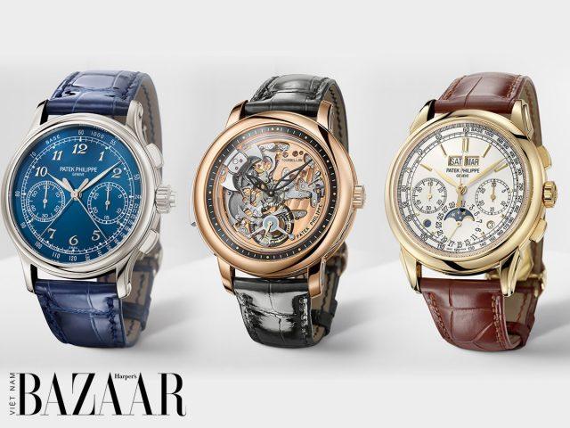 Patek Philippe đồng thời tung ra 3 mẫu đồng hồ siêu phức tạp cho 2020