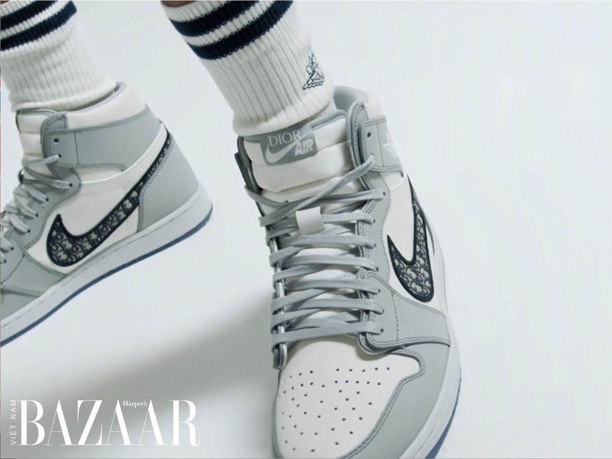 Giày thể thao Dior x Nike