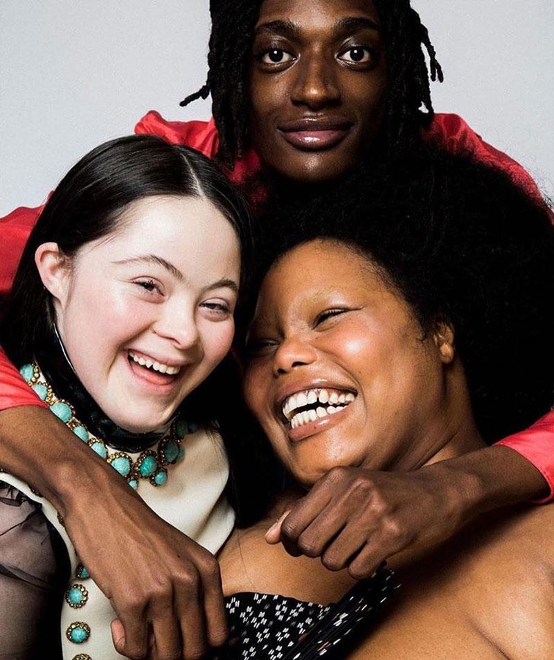 Người mẫu mắc hội chứng Down chụp ảnh quảng cáo mascara Gucci