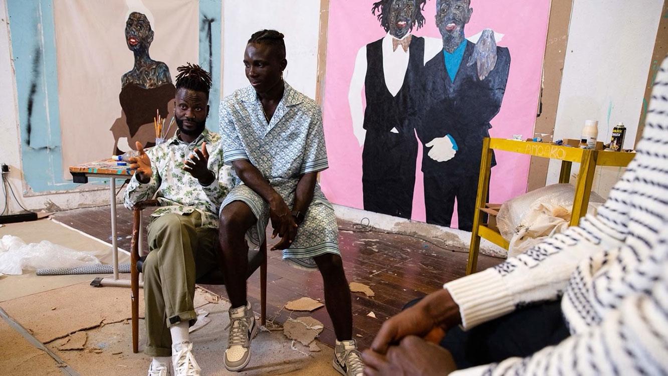 Anh Amoako Boafo, họa sỹ mang lại cảm hứng cho BST Dior Men Xuân Hè 2021