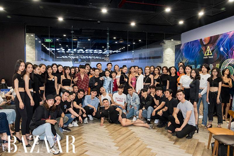 Dàn người mẫu tại buổi casting show IVAN 6