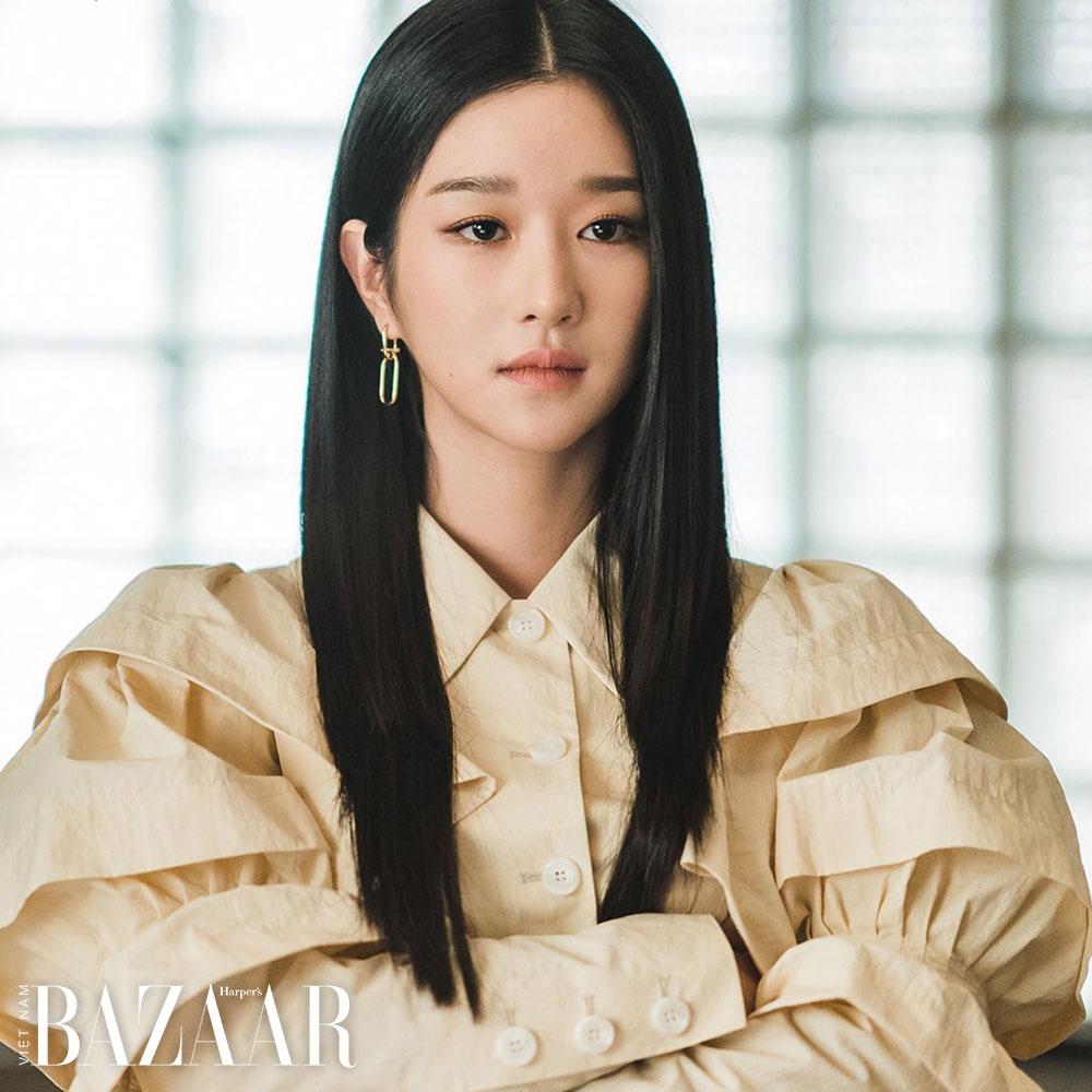 Cách trang điểm của Seo Ye Ji trong Điên thì có sao