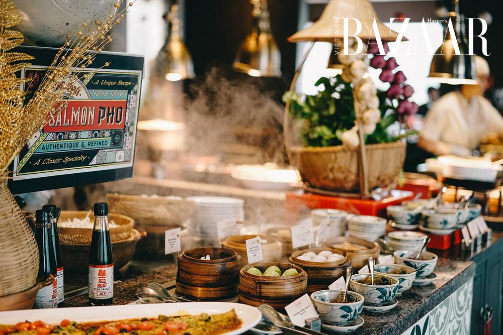 Tiệc trưa sành điệu tại nhà hàng Saigon Kitchen 7
