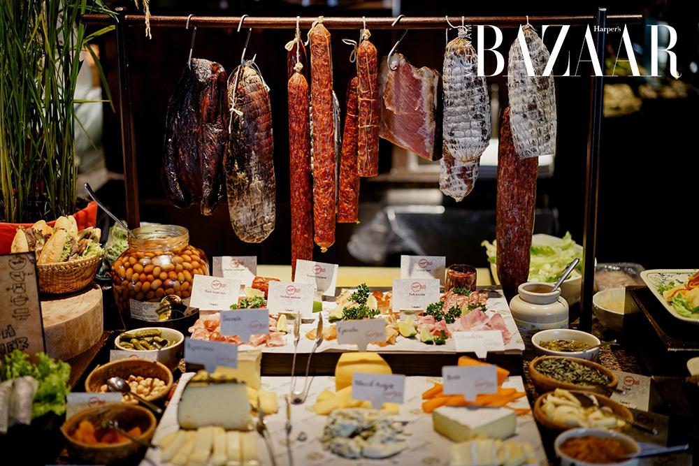Tiệc trưa sành điệu tại nhà hàng Saigon Kitchen 8