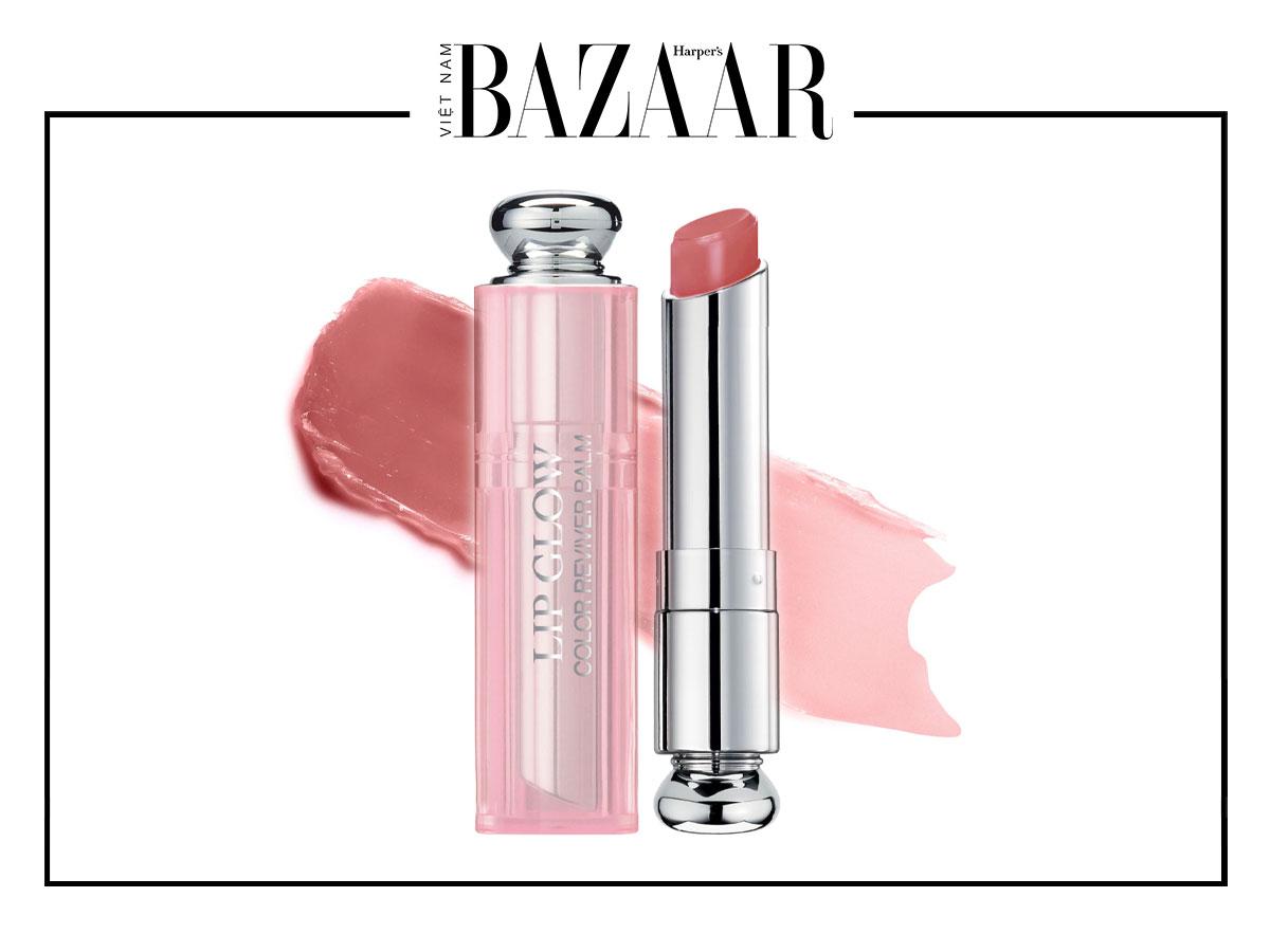 Son đổi màu: Son dưỡng Dior Lip Glow