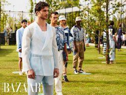 Mặc kệ COVID, Dolce & Gabbana và Etro vẫn tổ chức diễn show thời trang
