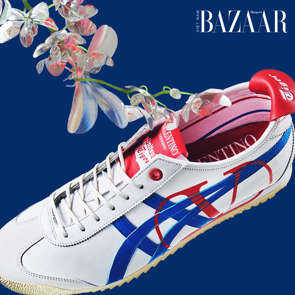 Sneaker Onitsuka Tiger x Valentino phiên bản giới hạn chỉ có 24 đôi