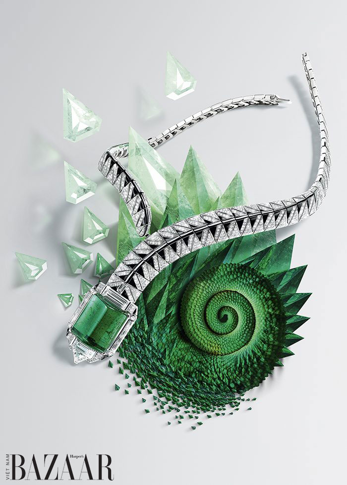 Vòng cổ Cartier [Sur]Naturel Opheis