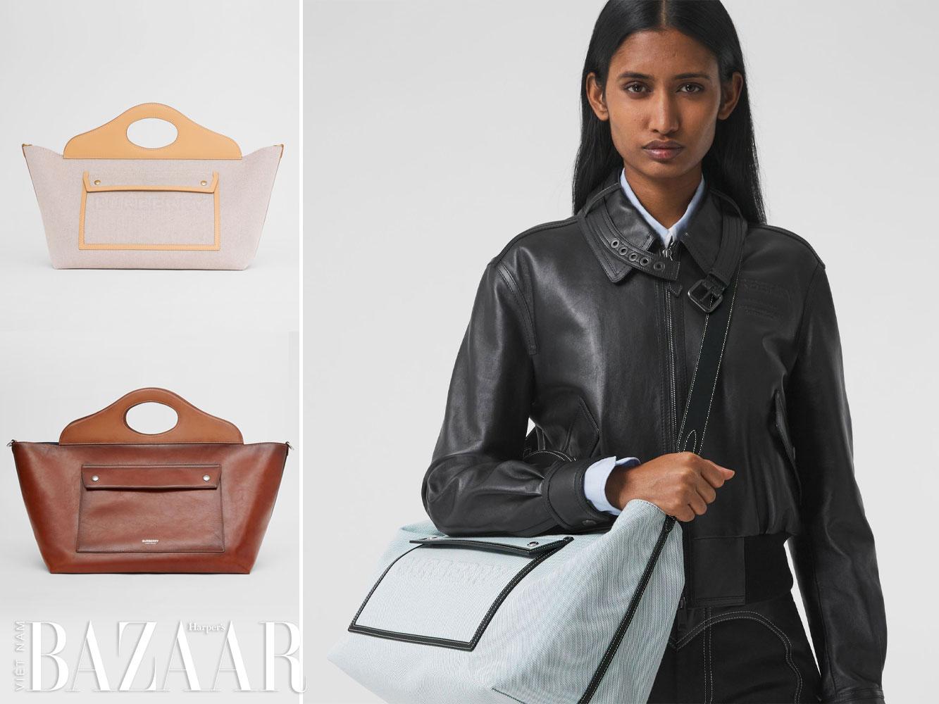 Vì sao túi xách Pocket Bag là It Bag mới của Burberry 4