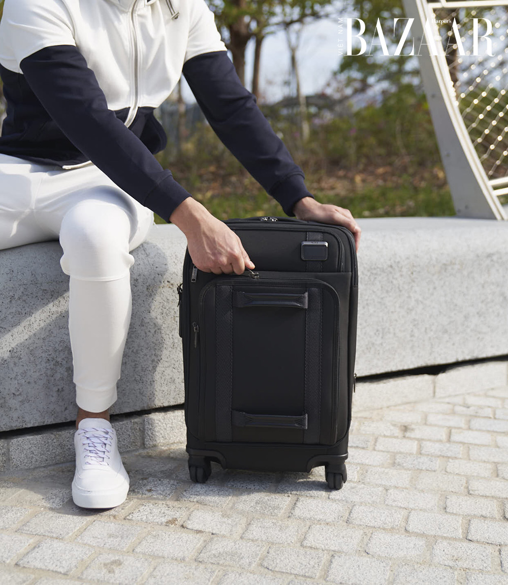 Ra mắt bộ sưu tập balo, vali Tumi từ rác thải tái chế