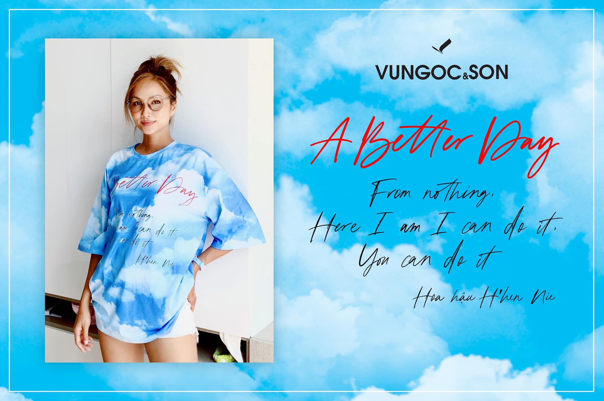 H'Hen Niê tham gia chiến dịch A Better Day VUNGOC&SON