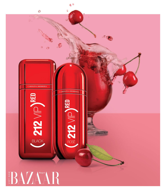 Nước hoa nữ hương trái cây: Carolina Herrera (212) VIP Red