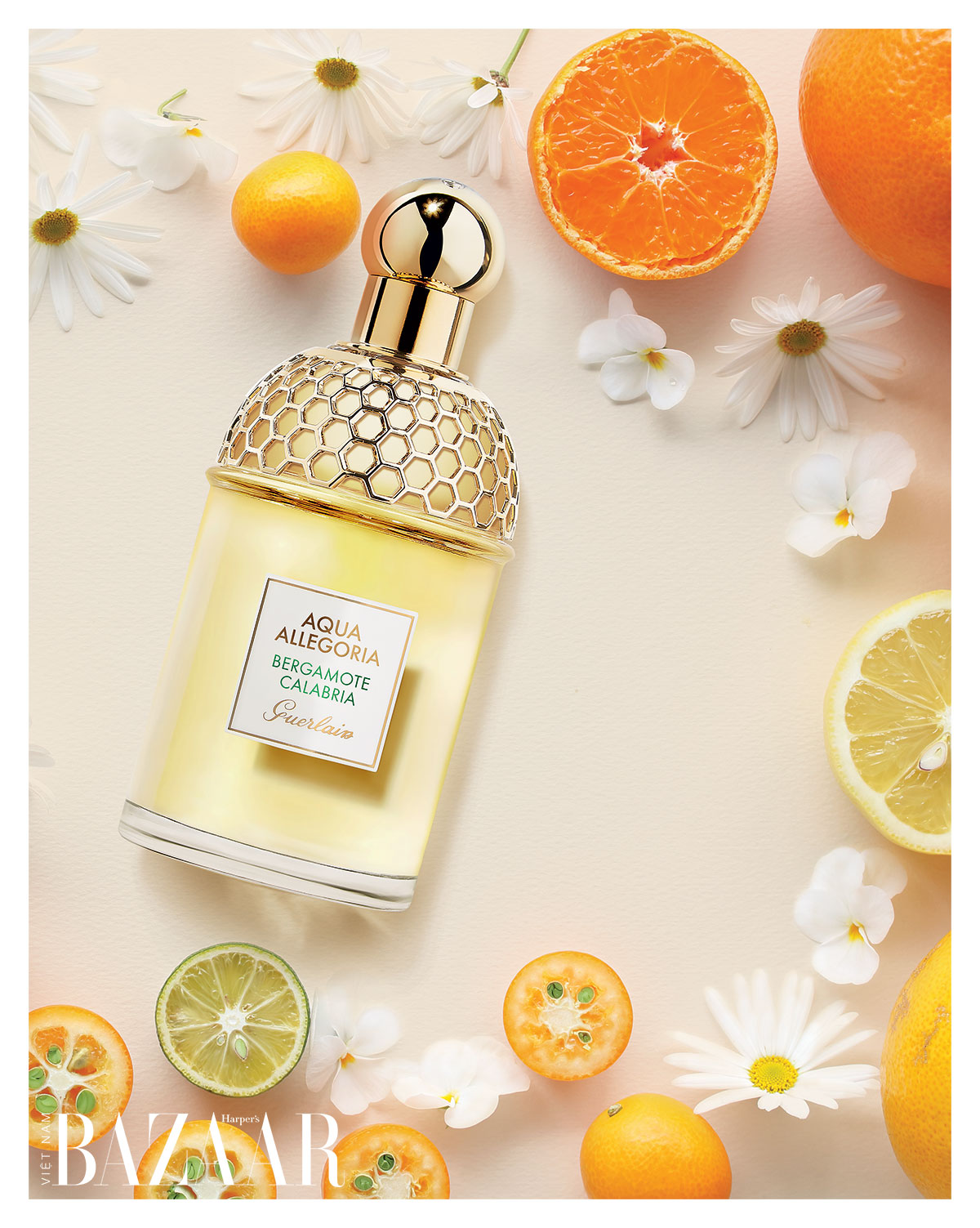 Nước hoa nữ hương trái cây: Guerlain Aqua Allegoria Bergamote Calabria