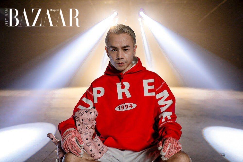 """Phong cách thời trang đậm chất """"Hypebeast"""" của rapper Binz"""