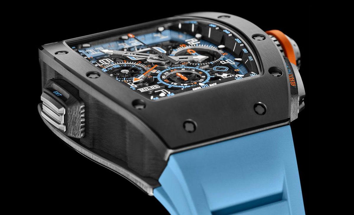 Richard Mille ra mắt đồng hồ RM 11-05 làm từ sứ cứng như kim cương