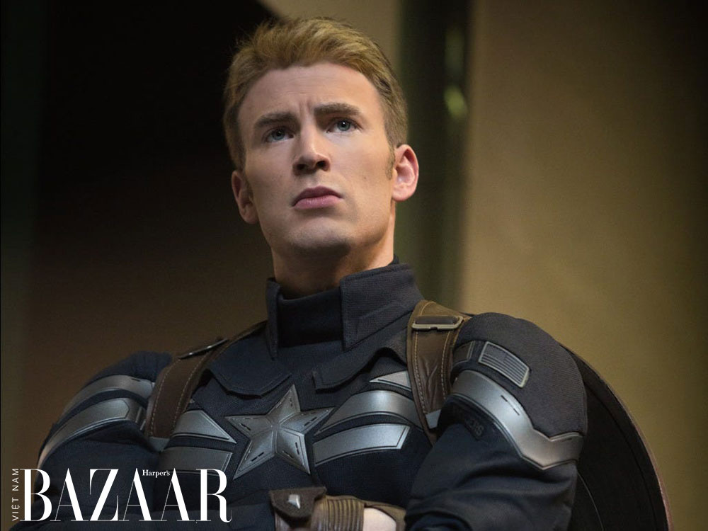 Chris Evans trong vai diễn Captain America