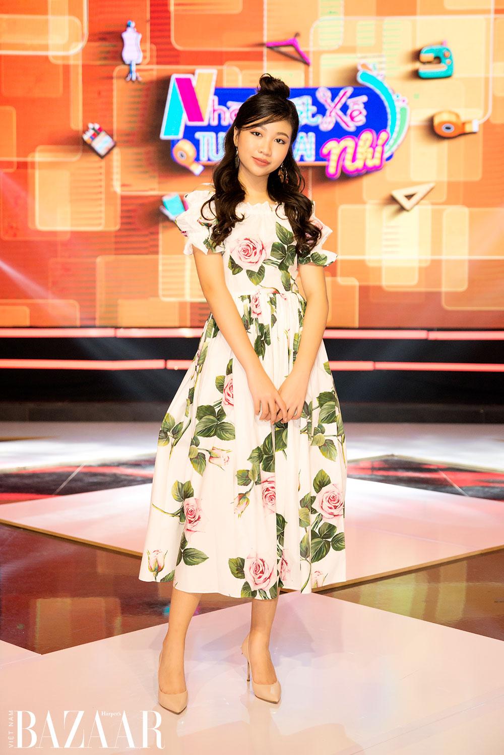 """Hoa hậu nhí Ngọc Lan Vy: """"Thành công sẽ không đến nếu như mình không có đam mê"""""""