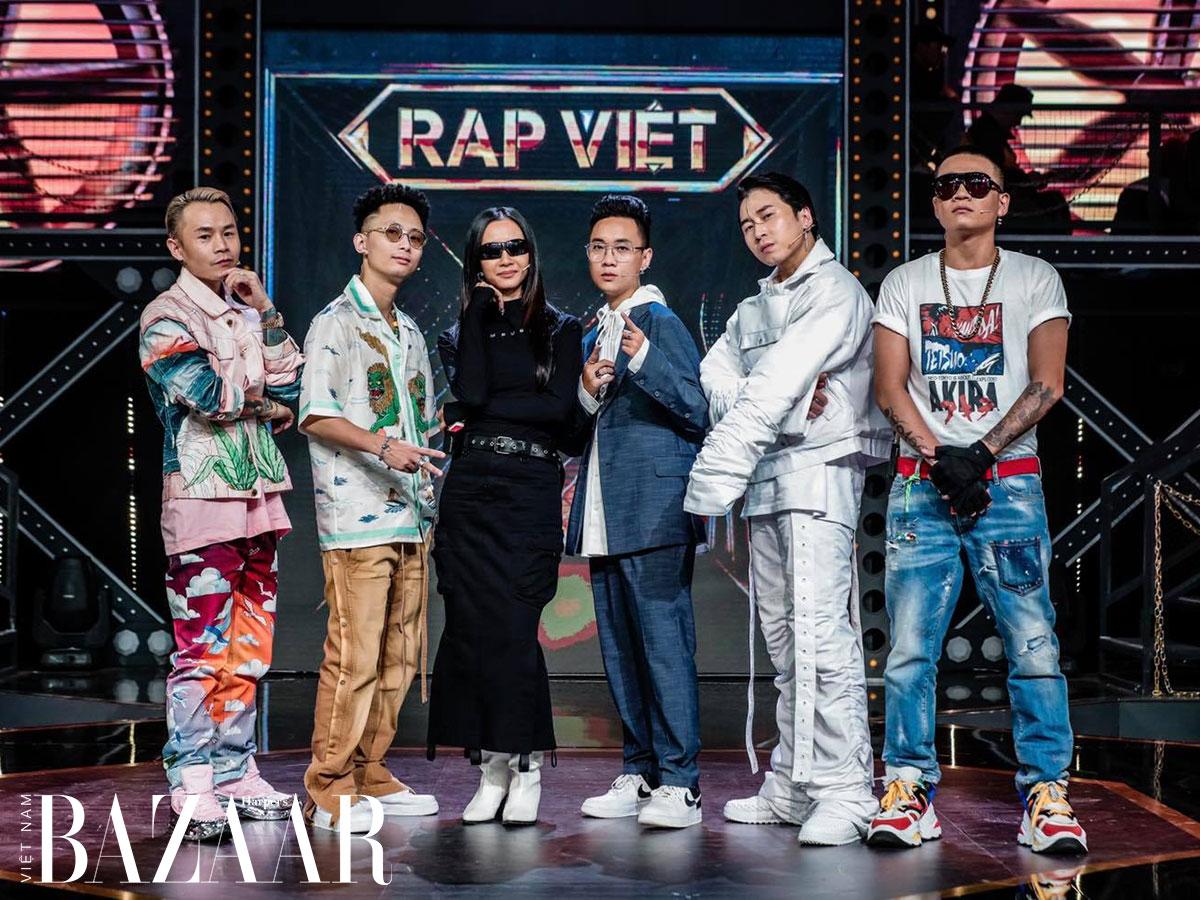 Thời trang huấn luyện viên Rap Việt