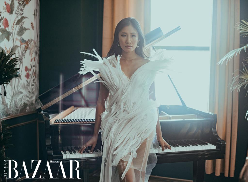 Nghệ sĩ dương cầm Van-Anh Nguyen: Nương náu trong những giai điệu