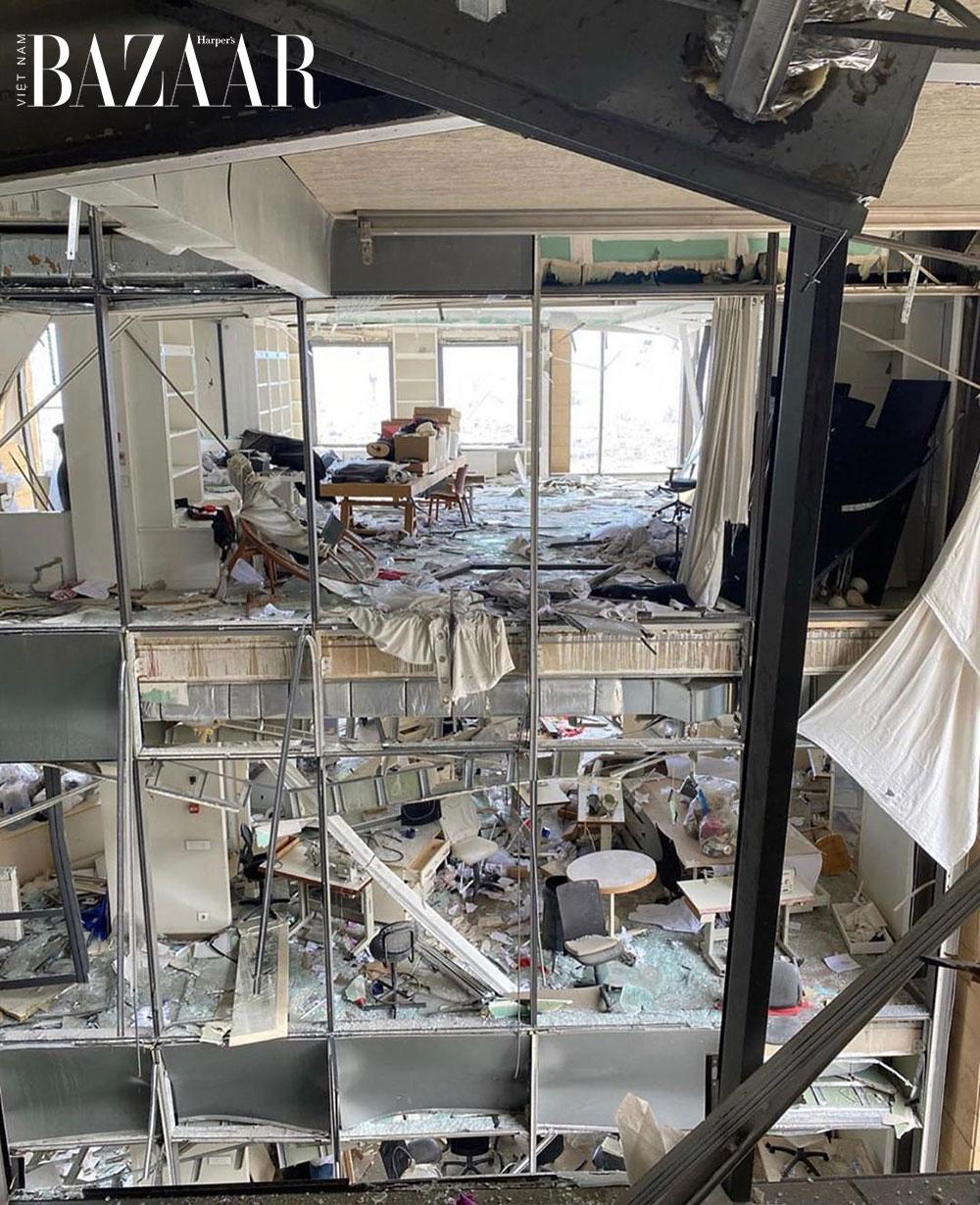 Xưởng Zuhair Murad bị phá hủy trong vụ nổ Beirut