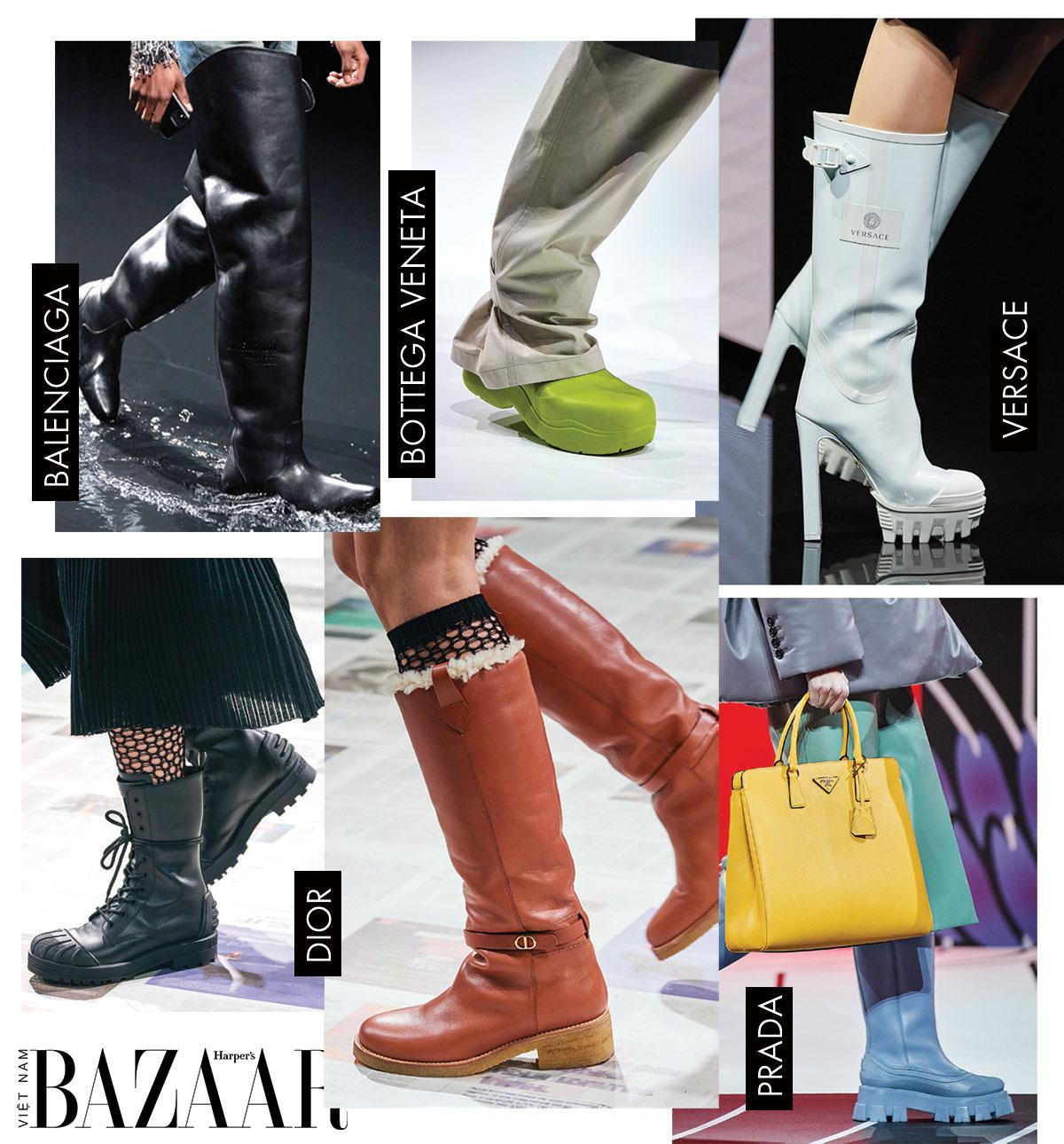 10 chi tiết gây ấn tượng nhất sàn diễn thời trang Thu Đông 2020