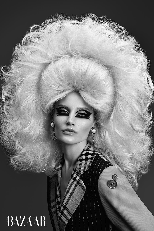 Kiểu tóc vương miện 3