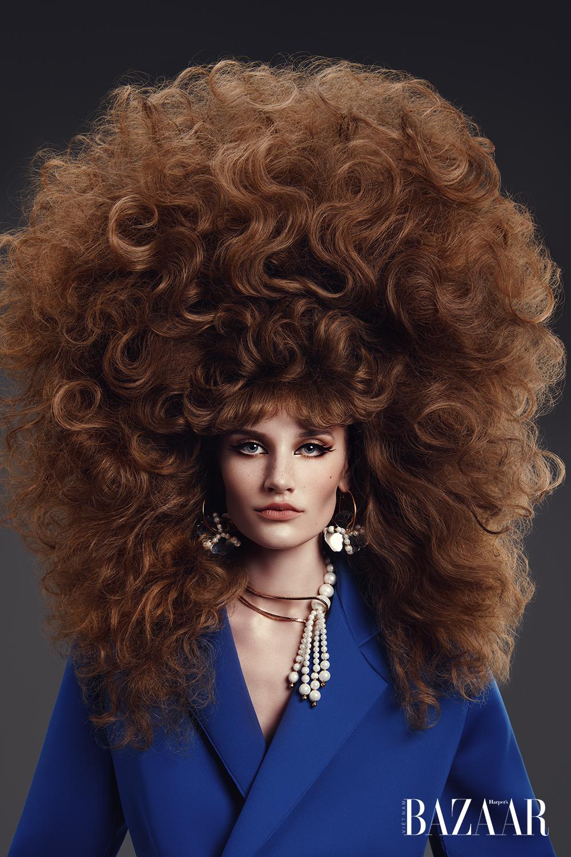 Kiểu tóc vương miện 2