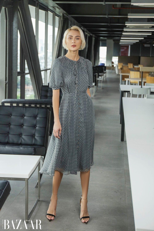 Lê Thanh Hòa Thu Đông 2020: Thời trang công sở cao cấp