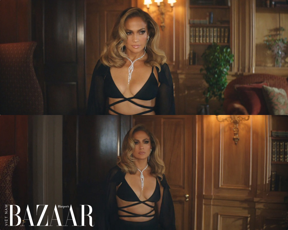 Jennifer Lopez mang thiết kế xuyên thấu của Công Trí lên MV Pa Ti đang trending toàn cầu