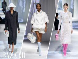 Fendi Xuân Hè 2021: Linen thanh khiết của Ý