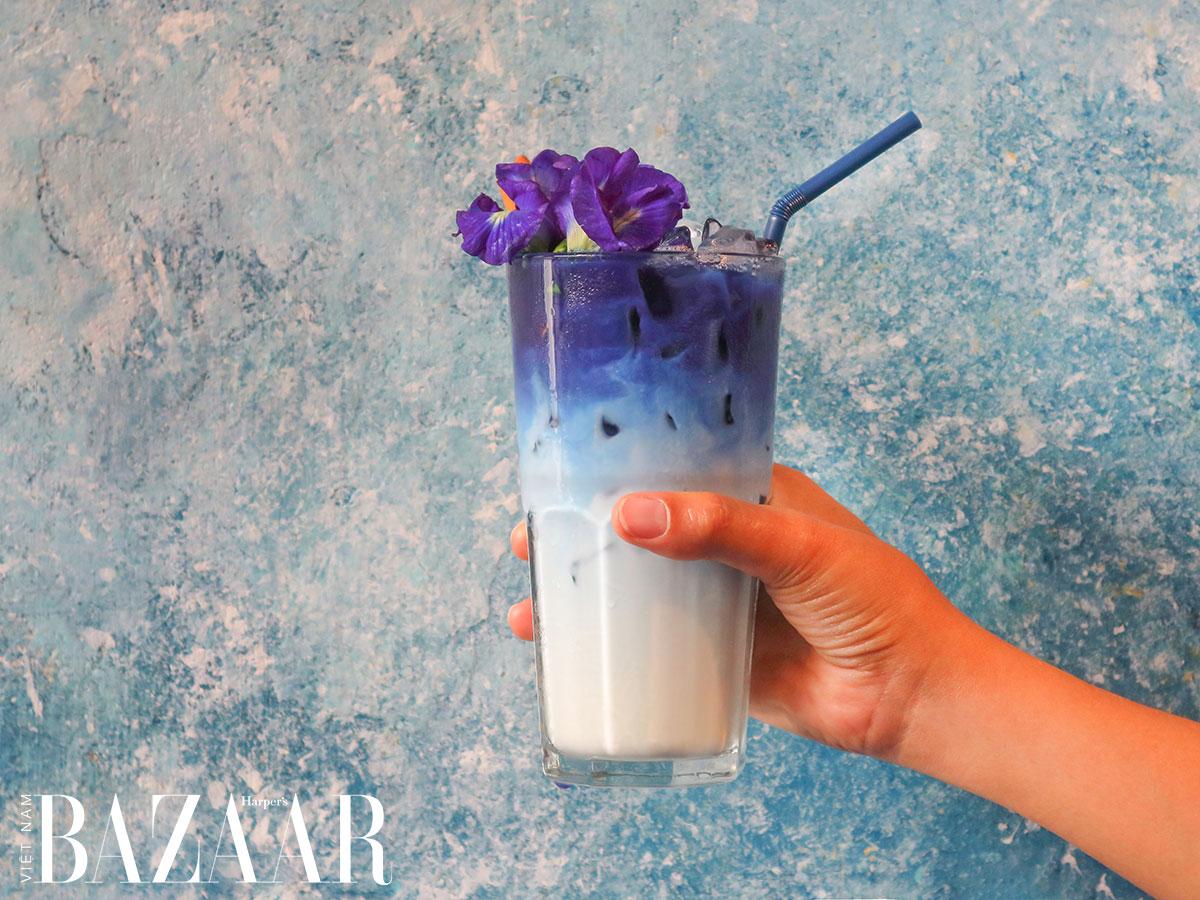 Hoa đậu biếc, món trà thảo mộc không caffeine đẹp da, chống lão hóa 3