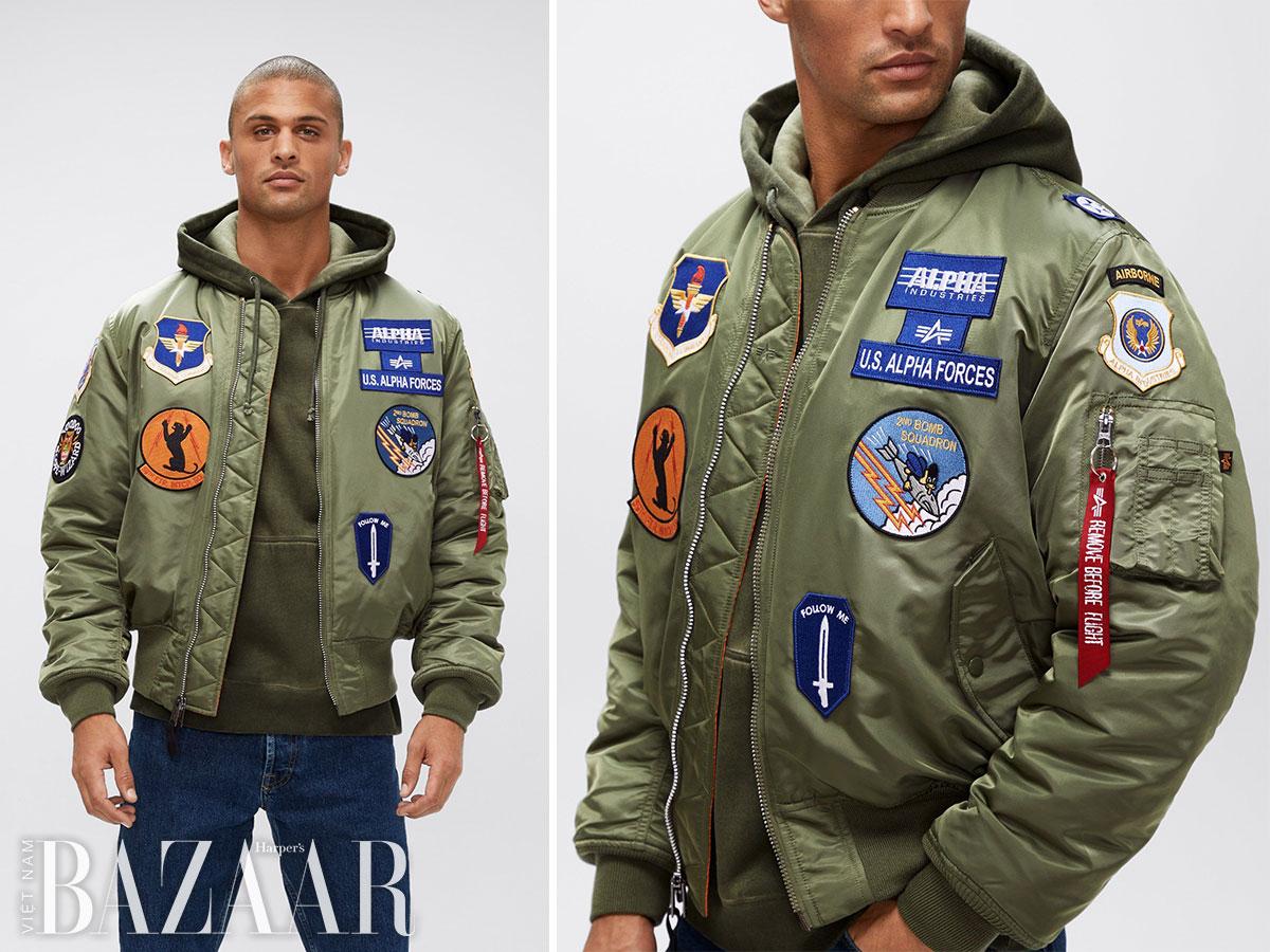 Lịch sử áo bomber – áo khoác của Alpha Industries