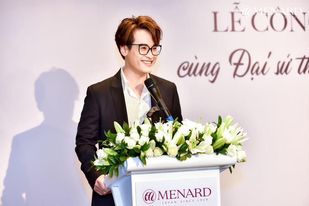 Ca sỹ Hà Anh Tuấn trở thành đại sứ thương hiệu Menard