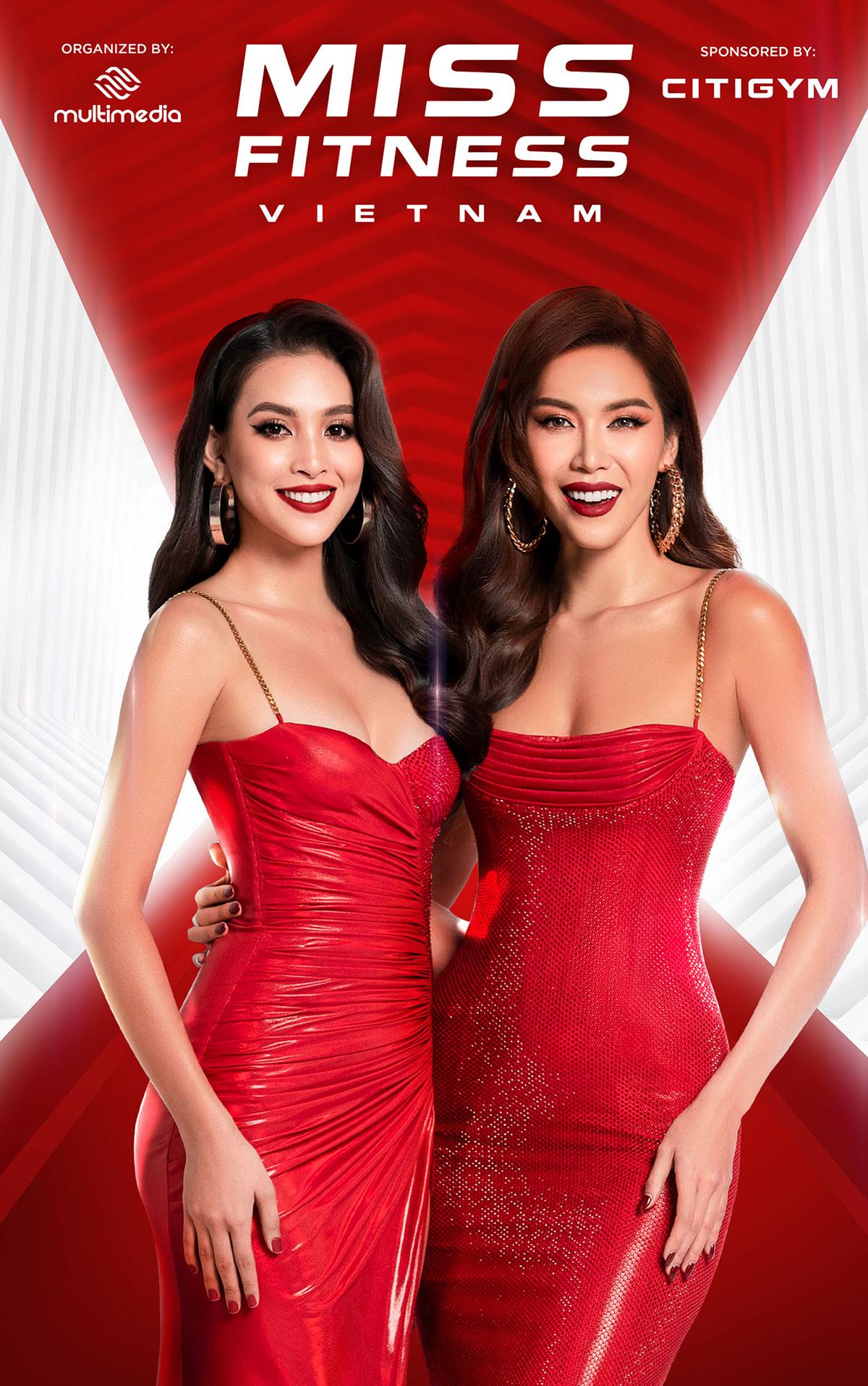 Minh Tú, Trần Tiểu Vy hóa chị em song sinh khi làm giám khảo Miss Fitness Vietnam 2020