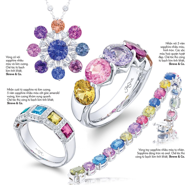 Sapphire màu nào đắt nhất? Hiểu về sapphire màu fancy 6