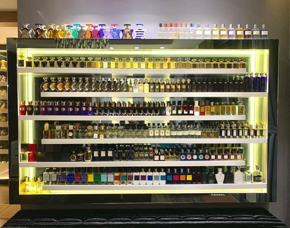 Bóc mác bộ sưu tập hơn 200 chai nước hoa xa xỉ của Trấn Thành 10