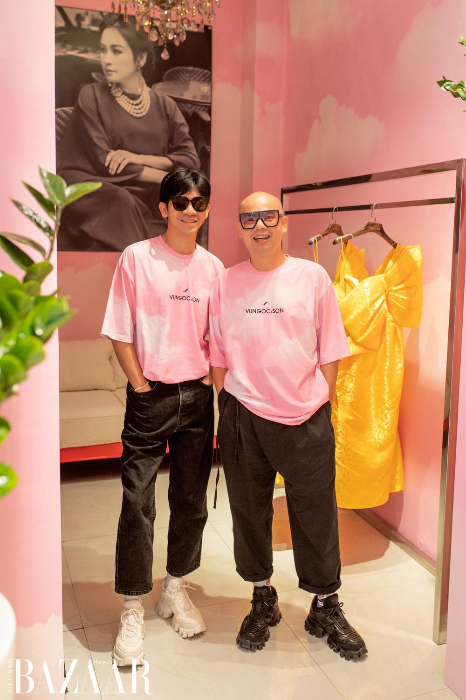 VUNGOC&SON trang hoàng cửa hàng trước thềm show Vàng son – A better day