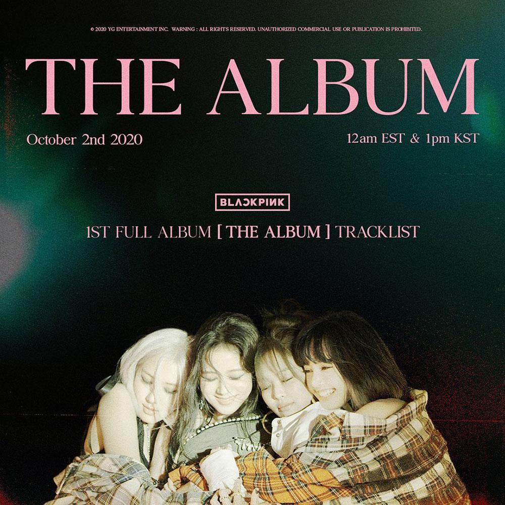 BLACKPINK chính thức ra mắt album đầu tay, THE ALBUM