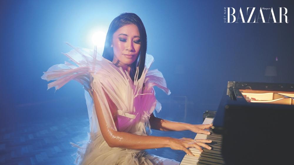 Nghệ sĩ dương cầm Van-Anh Nguyen