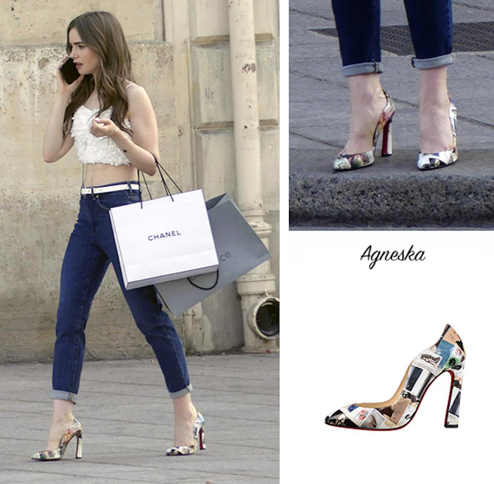 Điểm danh những đôi giày Christian Louboutin trong phim Emily in Paris