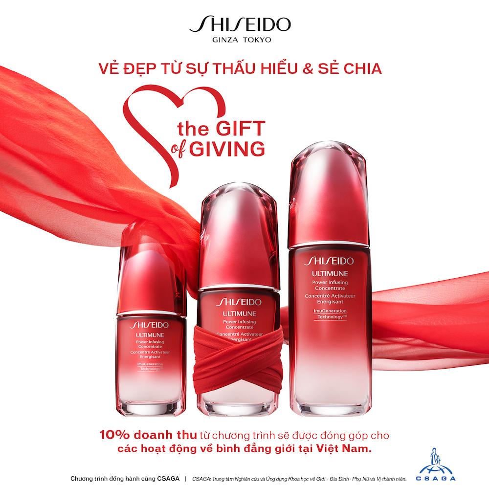 Shiseido Việt Nam cùng CSAGA kêu gọi chống phân biệt giới 1