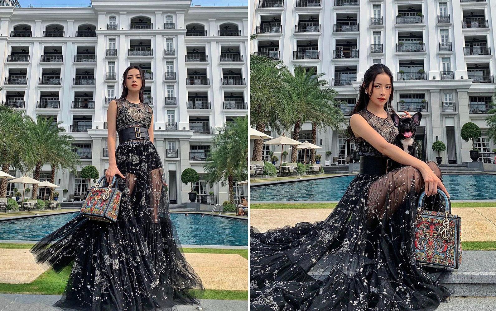 Chi Pu mặc Dior Cruise 2021