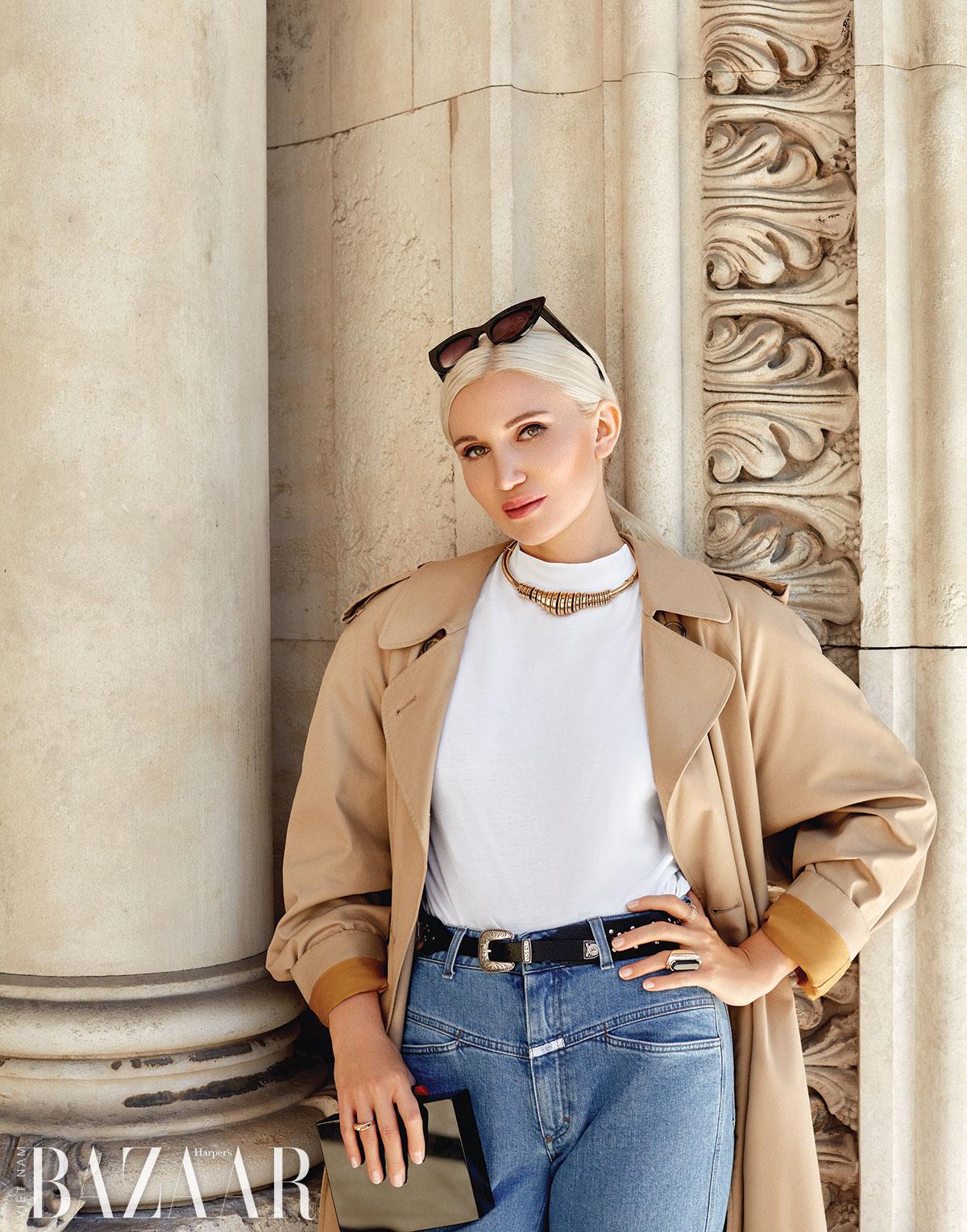 Julia Rosa: Muốn làm người mẫu nổi tiếng, không thể ôm cây đợi thỏ
