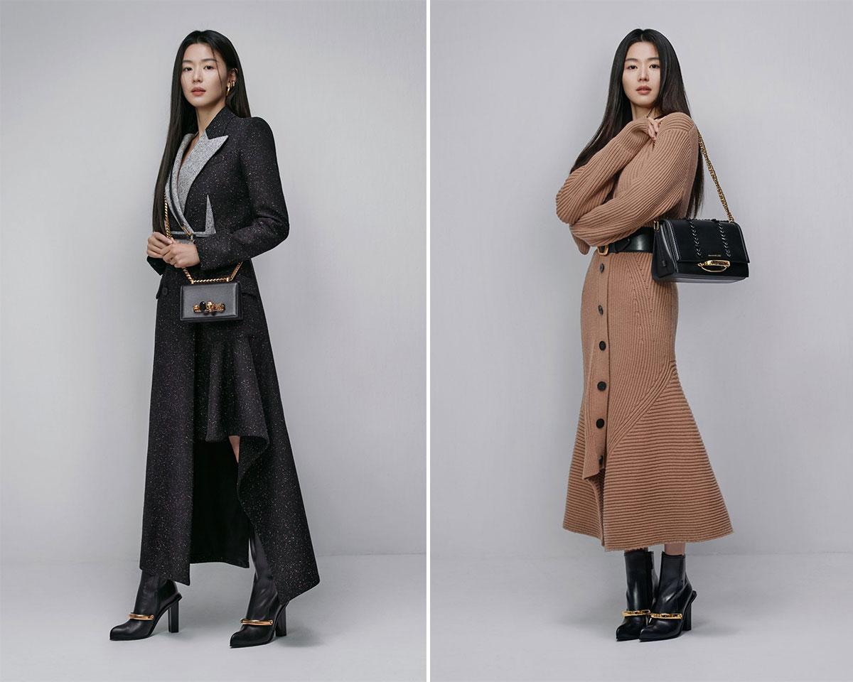 Chiến dịch thời trang Thu Đông 2020: Jun Ji Hyun for Alexander McQueen